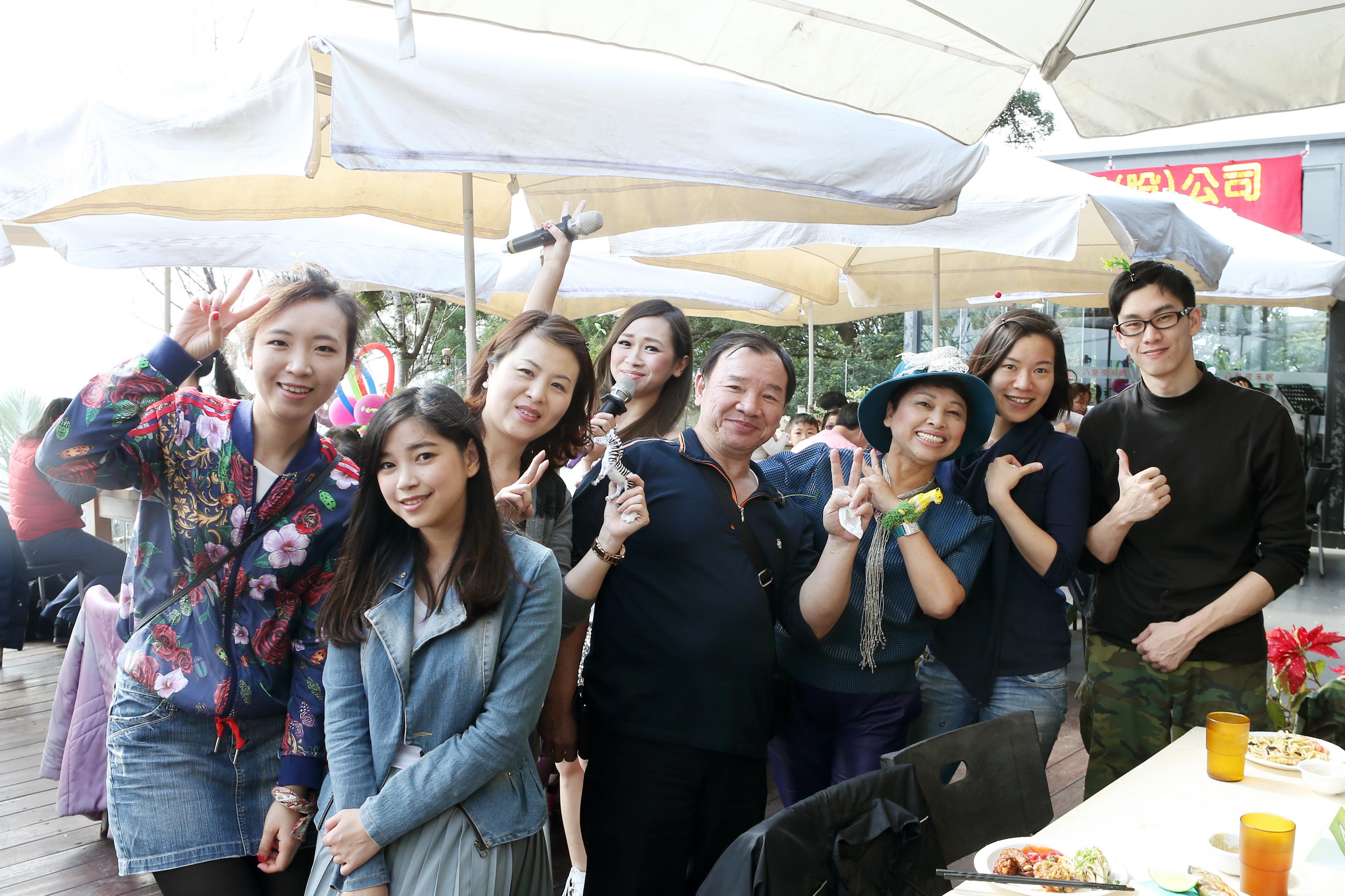 Jinnie L.L. company party